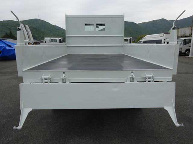 土砂ダンプ 電動コボレーン 新明和工業 角底一方開 標準 ベッドレス 3.5トン積み(38枚目)