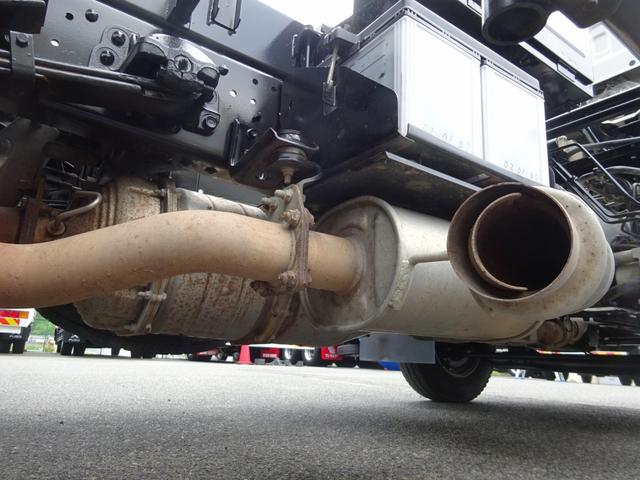 土砂ダンプ 電動コボレーン 新明和工業 角底一方開 標準 ベッドレス 3.5トン積み(49枚目)