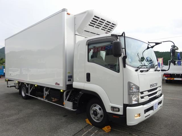 低温冷凍車 -30℃設定 床下格納ゲート 左片開き扉 ワイド ベッド付 2450kg積載(2枚目)
