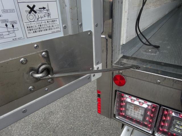低温冷凍車 -30℃設定 床下格納ゲート 左片開き扉 ワイド ベッド付 2450kg積載(23枚目)
