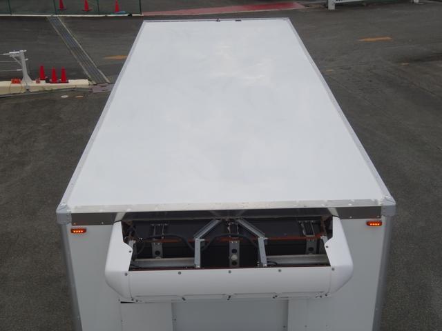 低温冷凍車 -30℃設定 床下格納ゲート 左片開き扉 ワイド ベッド付 2450kg積載(35枚目)