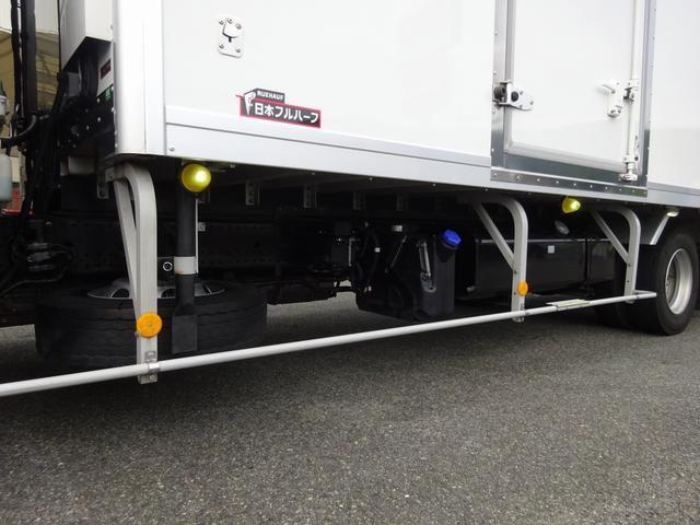 低温冷凍車 -30℃設定 床下格納ゲート 左片開き扉 ワイド ベッド付 2450kg積載(37枚目)