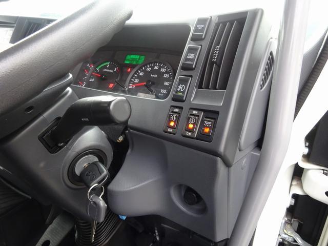 低温冷凍車 -30℃設定 床下格納ゲート 左片開き扉 ワイド ベッド付 2450kg積載(47枚目)