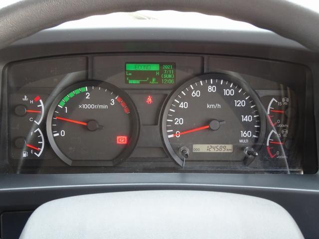 低温冷凍車 -30℃設定 床下格納ゲート 左片開き扉 ワイド ベッド付 2450kg積載(74枚目)