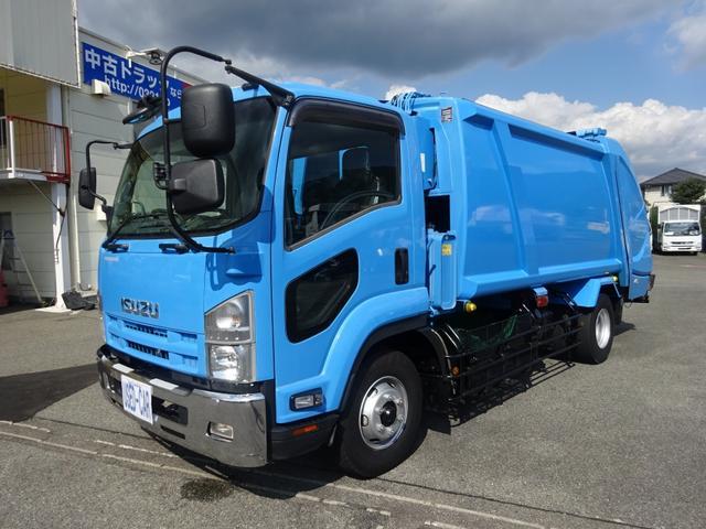増トン プレス式パッカー 計量器付 10.2m3 新明和 G-PX 連続積込 汚水タンク無し 標準幅 4350kg積載(3枚目)