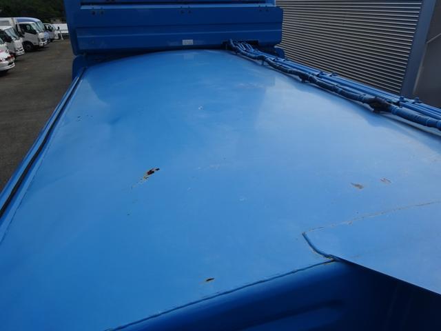 増トン プレス式パッカー 計量器付 10.2m3 新明和 G-PX 連続積込 汚水タンク無し 標準幅 4350kg積載(41枚目)