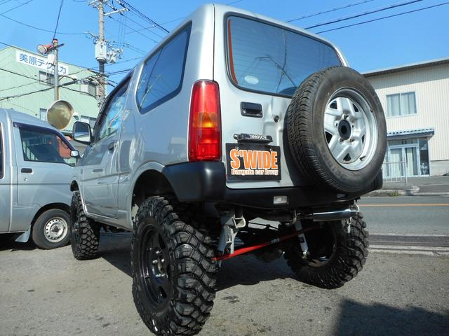 スズキ ジムニー XG 4WD ターボ リフトアップ マフラー マッドタイヤ