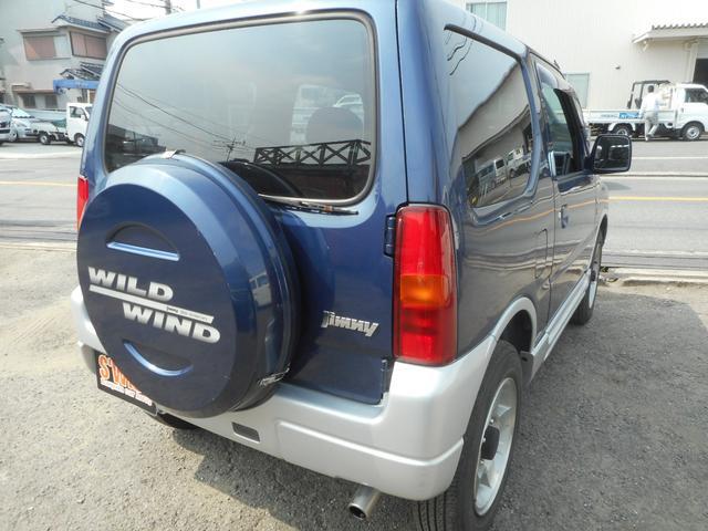 ワイルドウインド 4WD ターボ アルミ ナビTV CD(17枚目)