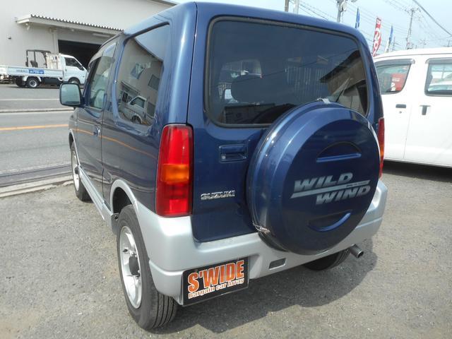 ワイルドウインド 4WD ターボ アルミ ナビTV CD(19枚目)