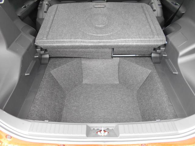 アンダーラゲージ!デッキボード下の空間です。荷物か増えてもOK、少し背の高いものも収納できます!
