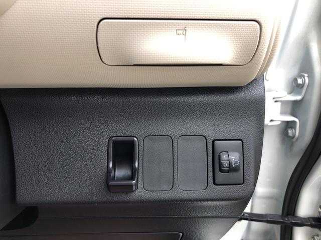 ココアX メモリーナビ バックカメラ ETC キーフリーシステム オートエアコン ベンチシート カーペットマット ホイールキャップ フォグランプ パールホワイト 電動格納式ドアミラー ワンセグチューナー ABS(20枚目)