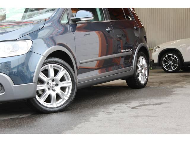 フォルクスワーゲン VW クロスゴルフ ベース HDDフルセグETC 限定車 バリュープラン対象車