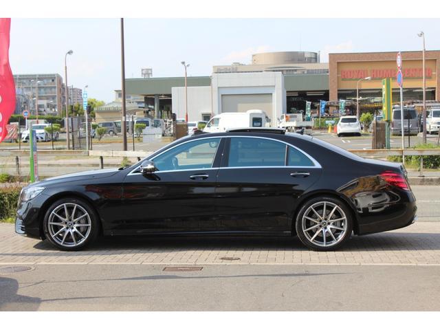 S400dロングEXC AMGライン+パノラマ リアエンタメ(5枚目)