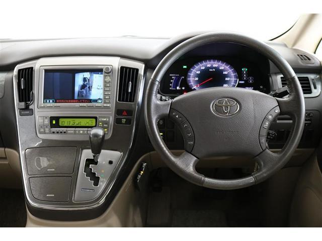 トヨタ アルファードハイブリッド Gエディション HDDナビ バックモニター フルセグTV