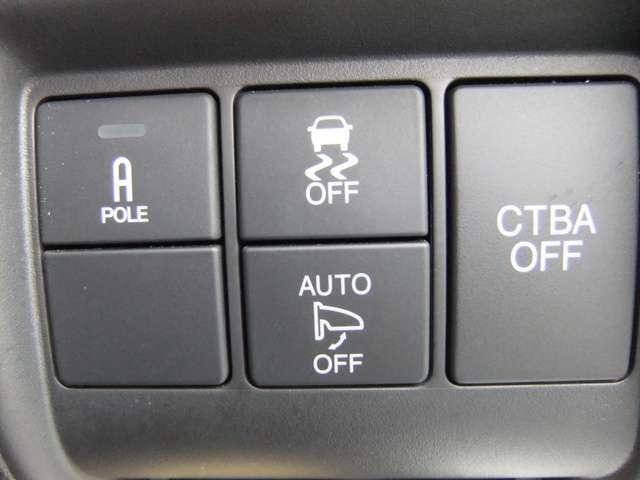 ブレーキ時の車輪ロックを防ぐABS、加速時の車輪空転を抑えるTCS、旋回時の横滑りを抑制の3つの機能を制御するVSA付き。