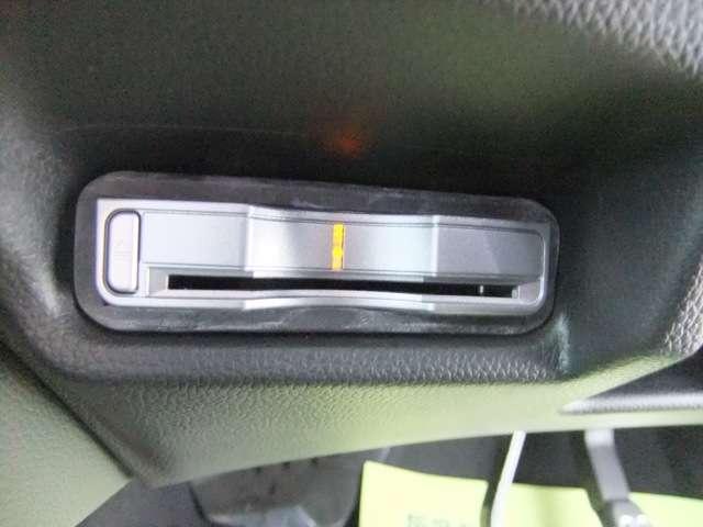 ETCが搭載されているので高速道路を走行中にお財布からお金を出す動作が無くなりよりスムーズに走行する事が出来ます。