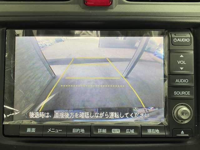 バックカメラも装着されており、後方確認もスムーズに出来て安心です。