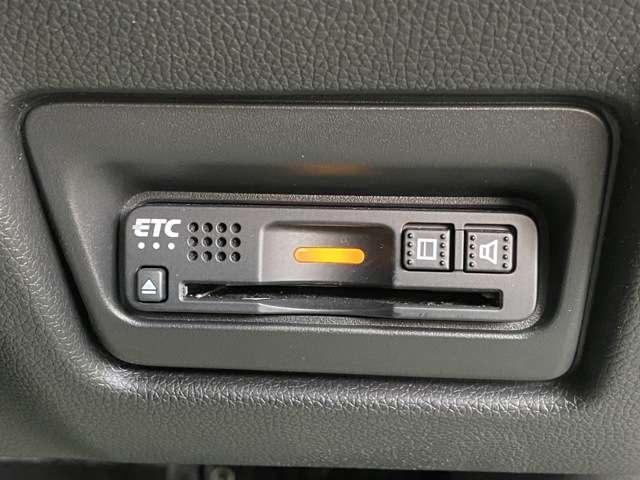 有料道路でとても便利なETCが搭載されています。