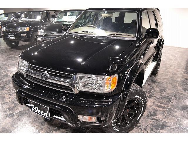 トヨタ ハイラックスサーフ SSR-X BKスタイル 新品17AW 新品ナビ リフトUP