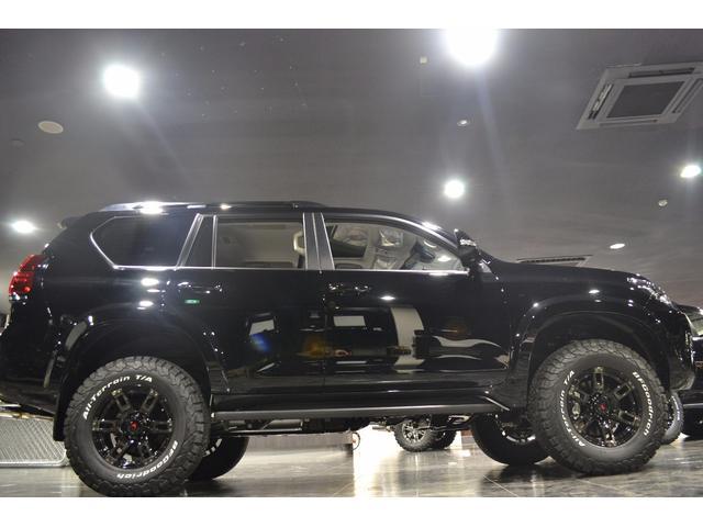 トヨタ ランドクルーザープラド BKスタイルII オーバーフェンダー リフトアップ マフラー