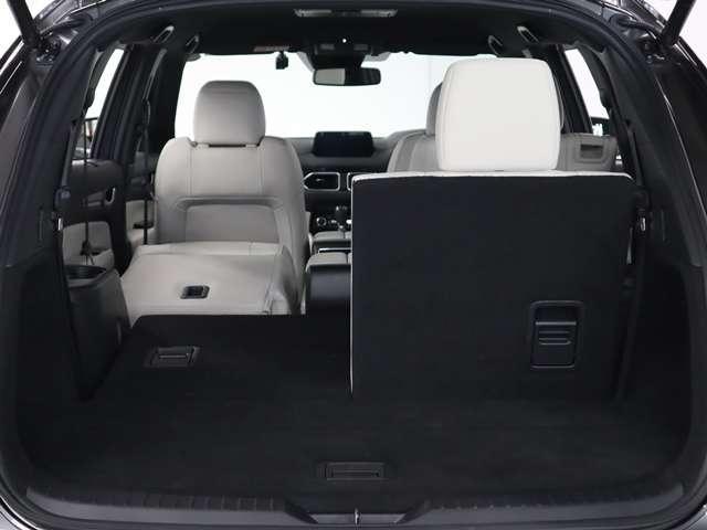 2.2 XD Lパッケージ ディーゼルターボ マツダ認定中古車  サポカー 衝突被害軽減ブレーキ マツダコネクトメモリーナビ 360度カメラ リアシートモニター ホワイトレザーシート 3列6人乗り(15枚目)