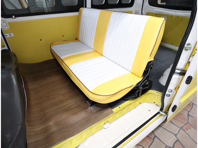 日産 バネットバン DXキャルルックカーアーリーバス仕様タイプIIロコバス