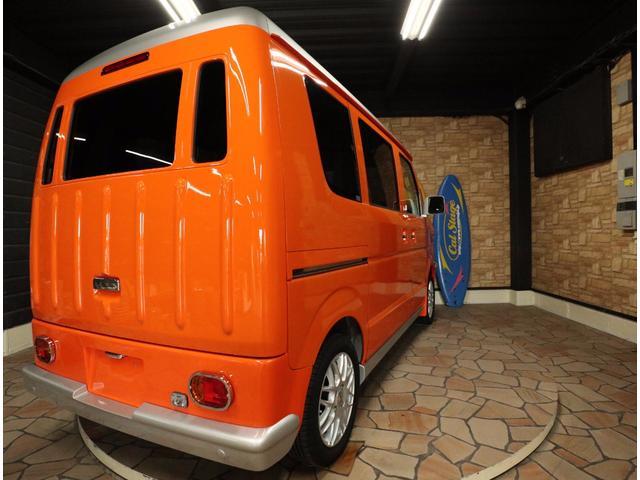 マツダ スクラムワゴン PXターボキャルルックカーレトロバス仕様ロコバス