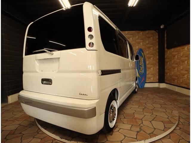 ホンダ バモス Mキャルルックカーレトロロコバス仕様ドレスアップカスタムカー