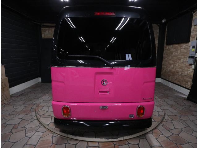 ダイハツ ハイゼットカーゴ クルーズターボビジネスキャルルックカーレトロバス仕様ロコバス