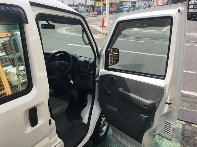 三菱 ミニキャブバン CD フルフラット オートマ パワステ 集中ロック エアコン