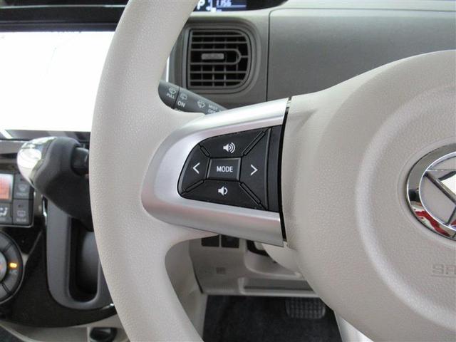 ステリングリモコンでオーディオの操作が出来るので運転中にも操作が出来て便利です!