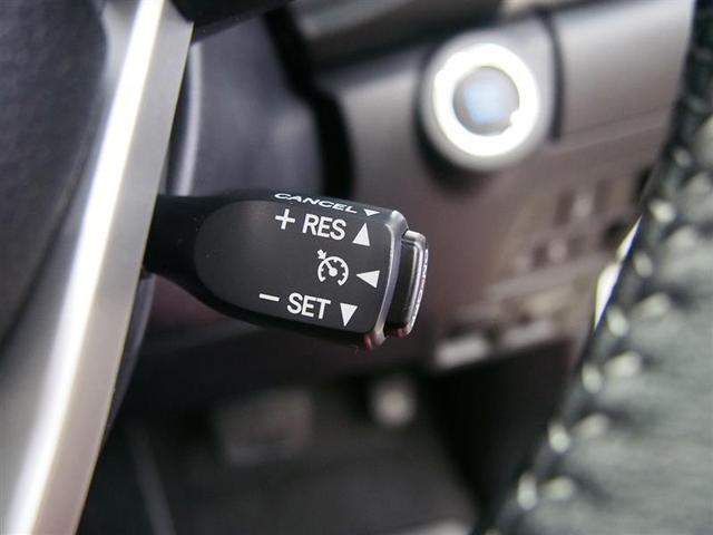 クルーズコントロール機能付き! 高速道路での定速走行も可能になります!