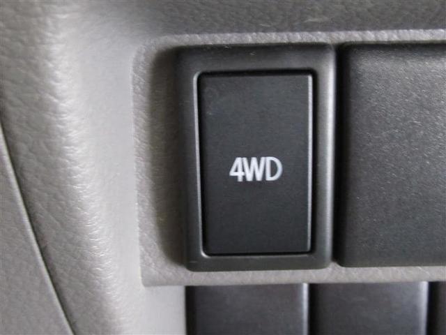 4WDの切り替えボタンがあり操作もワンプッシュで簡単♪