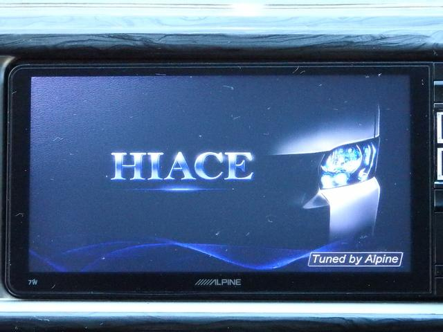 GL スマートキー パワースライドドア LEDヘッドライト フルセグTVナビ サイドモニター フリップダウンモニター Bカメラ ETC Fリップスポイラー レザー調シートカバー AC100V(20枚目)