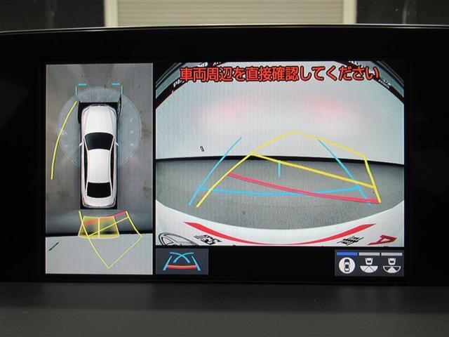 パノラミックビューモニターは真上から見下ろした画像を表示できます。これなら車庫入れも安心です