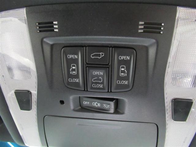 大きく重い後部のバックドアには電動のパワーバックドアを採用。スイッチ一つで楽々開閉。背が届かなくでも安心してください。室内からの操作やリモコン操作も可能です