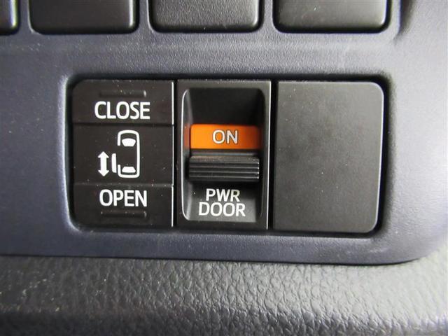 左側の電動スライドドアは、運転席のスイッチでも開閉可能!