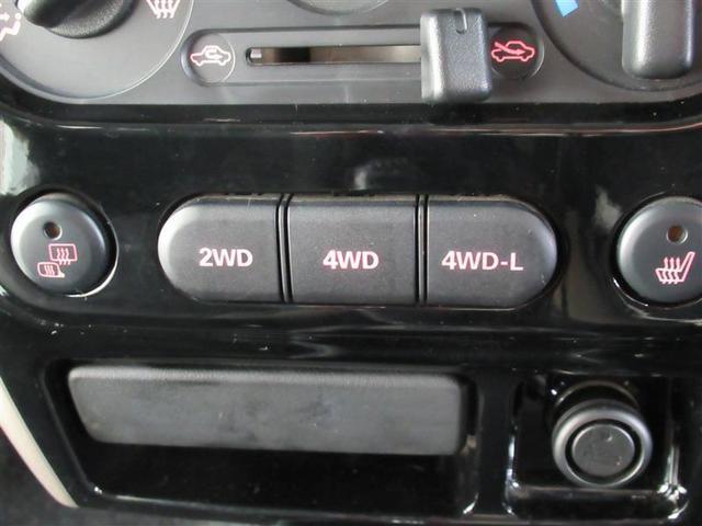 2WDと4WDを切り替えできるパートタイム4WD!