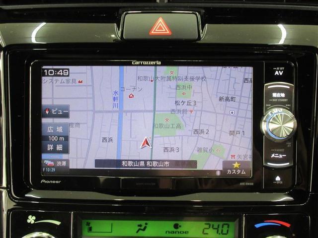 フルセグTVやDVDも視聴できるSDナビ付です。CDをSDカードに直接録音できるなど、機能も多彩でロングドライブが楽しくなります!