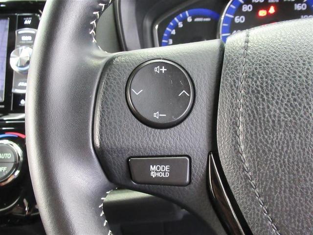 ステアリングを握ったままでオーディオ操作が可能です。視線移動も少なくハンドルから手を離さないので安全性も向上です!