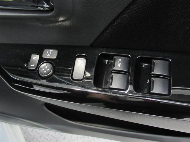 駐車したらスイッチ「ポン」!電動でドアミラーを開閉できる電動格納式ドアミラーです。もちろんミラー調整も電動で!