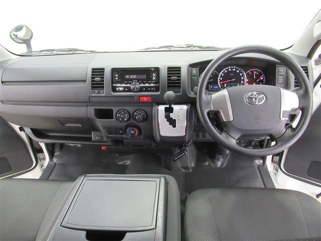 ロングDX GLパッケージ 衝突被害軽減ブレーキ・レーンディパーチャーアラート・オートマチックハイビーム・2WD・A/T・ガソリン車・両側スライドドア・最大積載量1,250kg・CDラジオ・トヨタ認定中古車・ロングラン保証(4枚目)