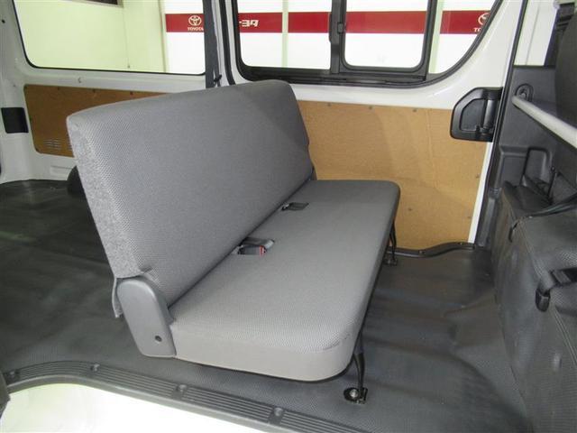 ロングDX GLパッケージ 衝突被害軽減ブレーキ・レーンディパーチャーアラート・オートマチックハイビーム・2WD・A/T・ガソリン車・両側スライドドア・最大積載量1,250kg・CDラジオ・トヨタ認定中古車・ロングラン保証(12枚目)