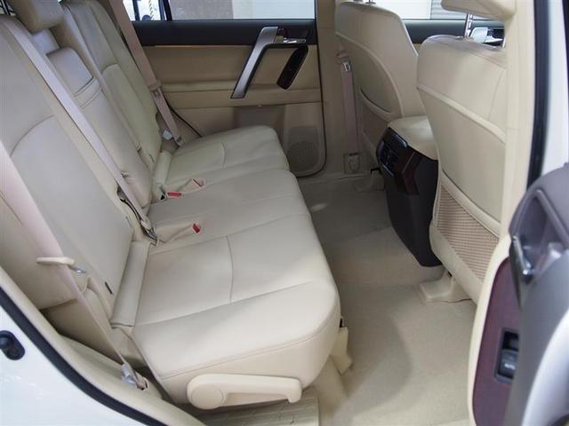 トヨタ ランドクルーザープラド TX Lパッケージ ベージュ本革 サンルーフ LED 7人