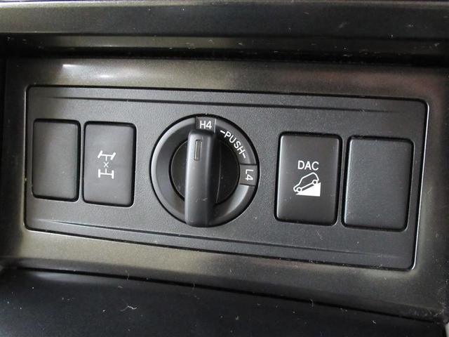 ハイモードとローモードの切替が可能な本格的な4WD!フルタイム4WDで安定した走行が可能です