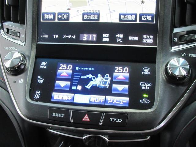 話題のナノイー機能付オートエアコンは左右で違う温度設定も可能です。しかもフロントシートには冬場に暖かいシートヒーターも装備!