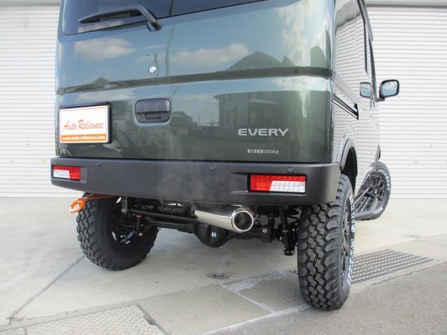 ジョインターボ 外装プラスライン仕様・4インチアップ・構造変更届出納車・ターボ付・4WD・4AT(17枚目)