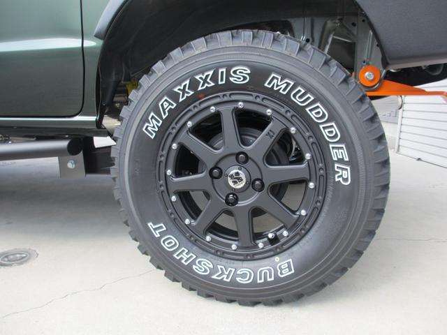 ジョインターボ 外装プラスライン仕様・4インチアップ・構造変更届出納車・ターボ付・4WD・4AT(21枚目)