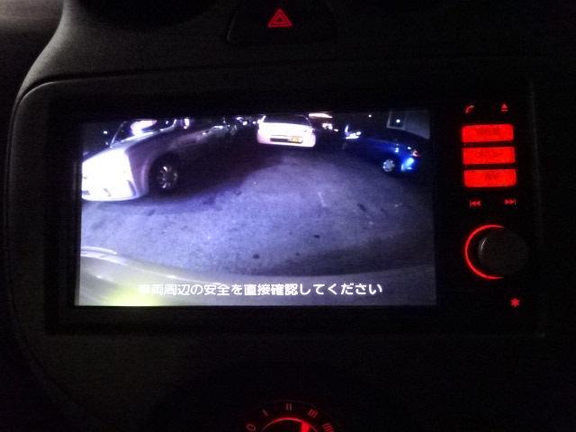 日産 マーチ 12X  地デジナビTV Bモニター スマートキー ETC付