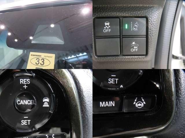 ホンダ N BOXカスタム GLターボセンシング デモカー Gathersナビ フルセグ